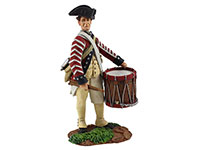 Continental Army 1st American Regiment Drummer