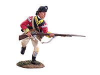 British 10th Foot Light Infantry Charging