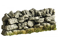 Straight Dry Stone Wall