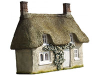 Thatched Cottage Facade