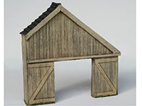 Lean-To-Timber-Shed