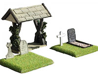 Lych Gate And Graves