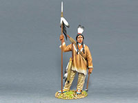 Sioux Warrior with Spear