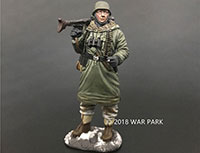 Grenadier with MG42 Smoking