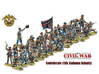 Confederate 13th Alabama Infantry